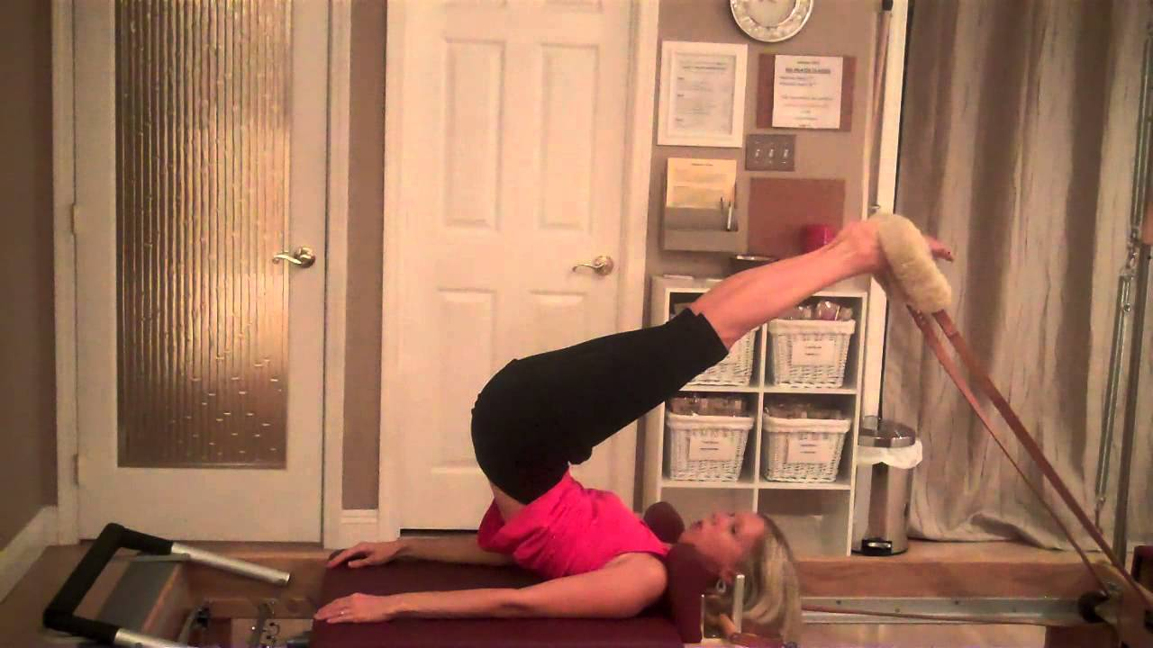 Pilates Reformer: Routine for Low Back Soreness - YouTube